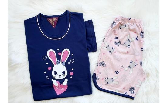 Bunny Love тъмно син